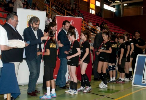 entrega trofeos minivoley madrid